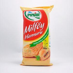 Pülək pastası Pinar Milfoy 1 кг (Тесто слоенное)