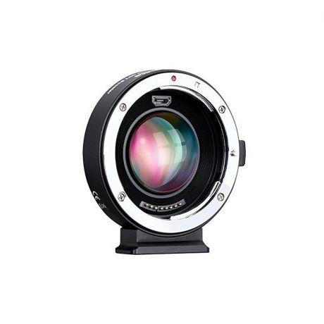 Адаптер Commlite для объективов Canon EF на байонет m4/3