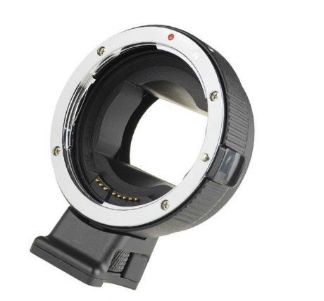 Адаптер Commlite для объективов Canon EF/EF-S на байонет Sony E-mount с автофокусом