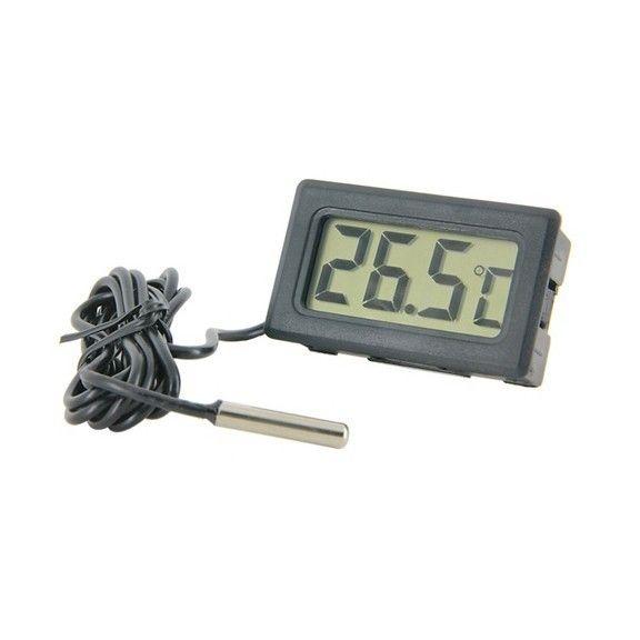 Цифровой термометр с щупом на проводе Digital Thermometer