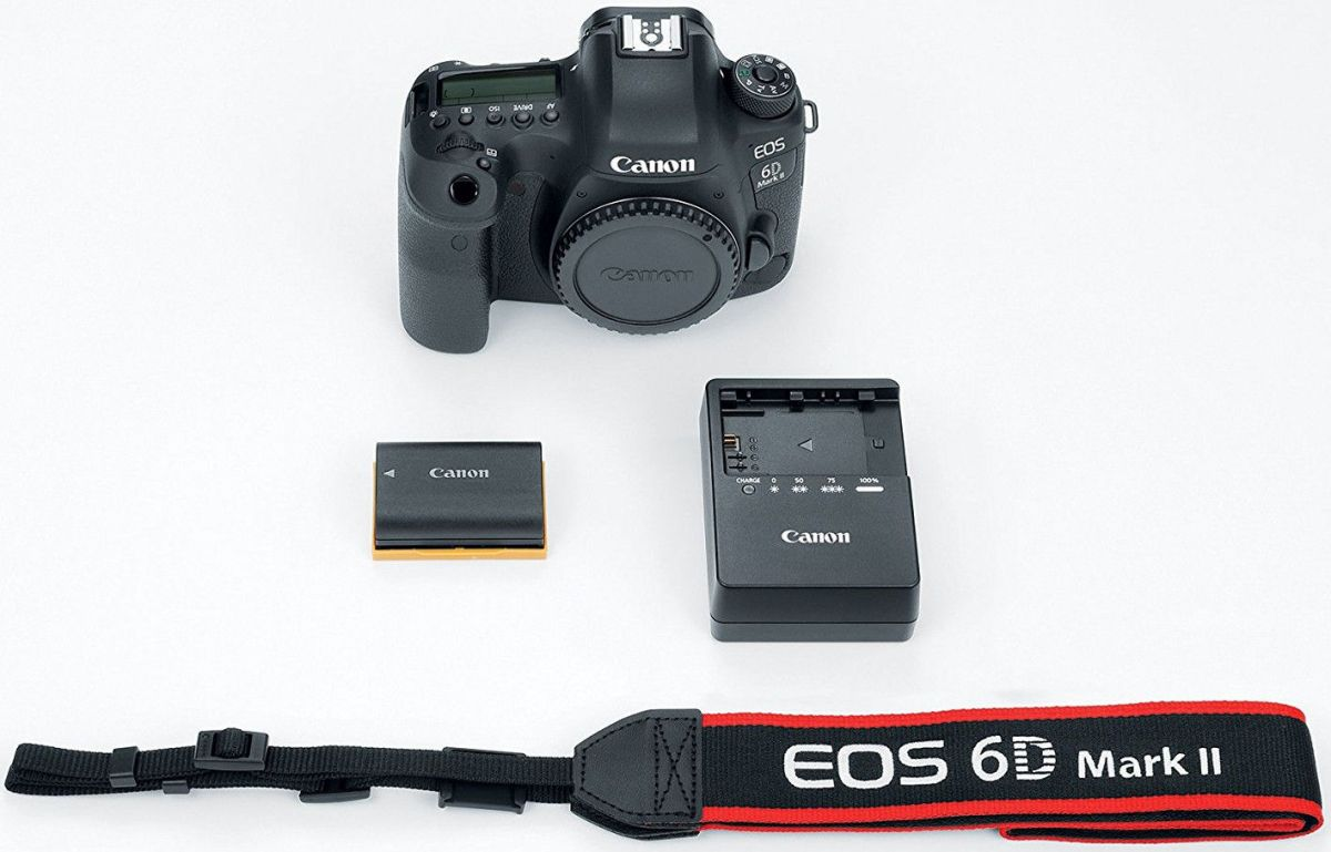 Canon EOS 6D Mark II Body(РУС МЕНЮ Japan)