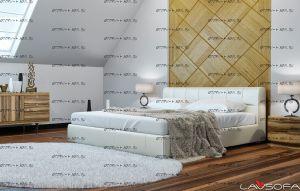 Кровать интерьерная Беленус