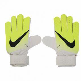 Перчатки Nike Match вратарские бело-салатовые детские
