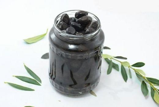 Черные оливки варенье 0.5 кг (банка)