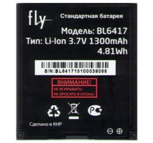 Аккумулятор Fly IQ239+ (plus) ERA Nano 2 (BL6417) Оригинал