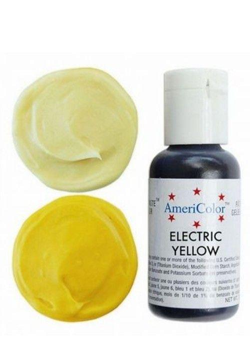 Краситель   Америколор Electric Yellow