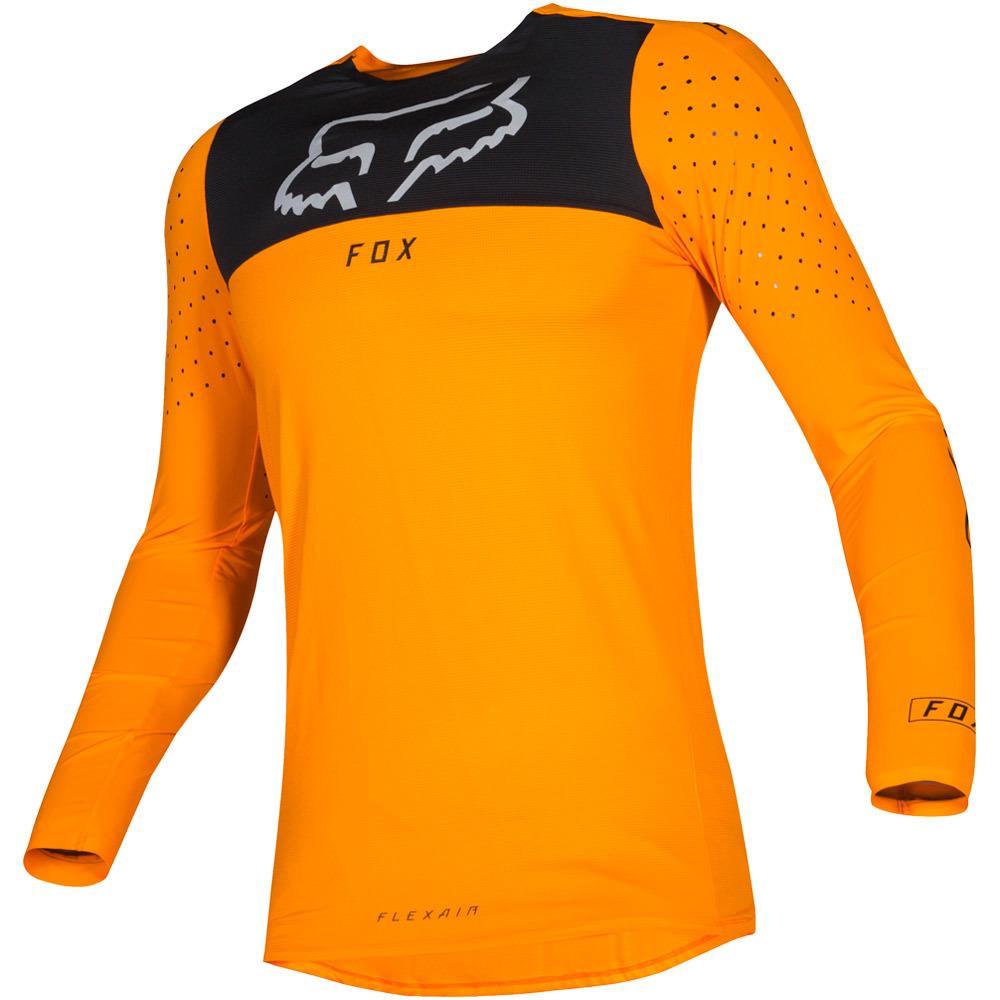 Fox - 2019 Flexair Royl Orange джерси, оранжевое
