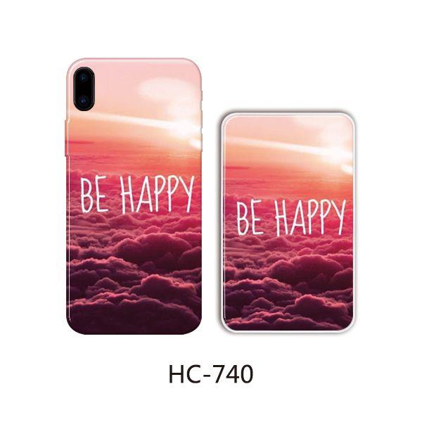 Защитный чехол HOCO Colorful and graceful series для iPhone 6/6S (be happy)
