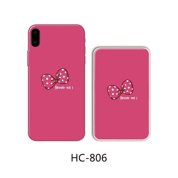 Защитный чехол HOCO Colorful and graceful series для iPhone 6/6S (розовый бант)