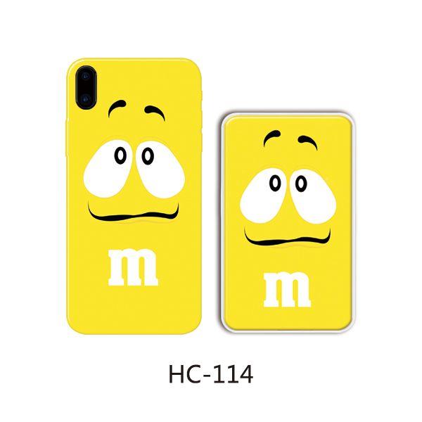 Защитный чехол HOCO Colorful and graceful series для iPhoneXS (желтый конфет)