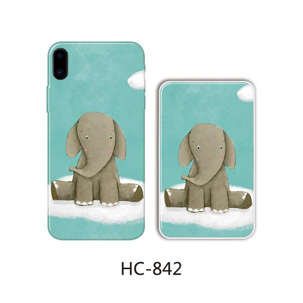 Защитный чехол HOCO Colorful and graceful series для iPhone 5/5S (слон сидит)