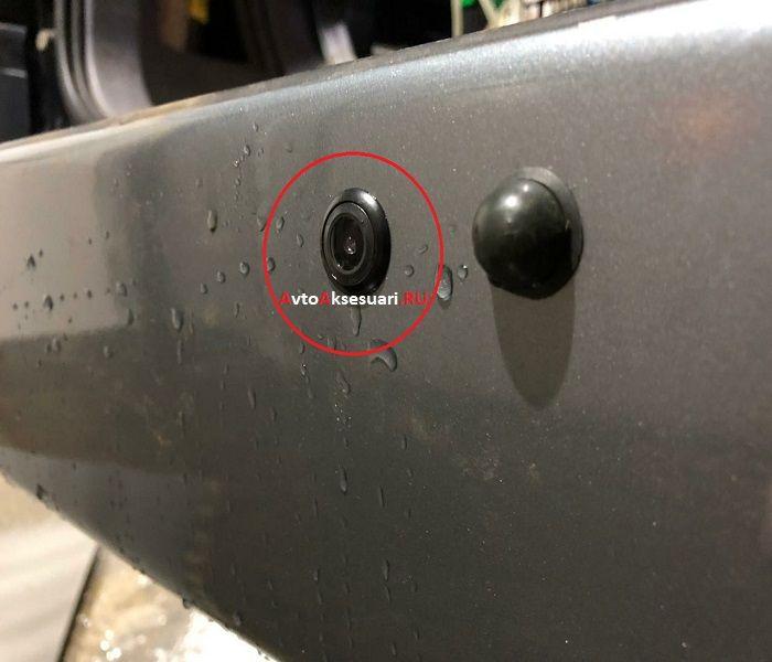 Камера заднего вида универсальная K475W