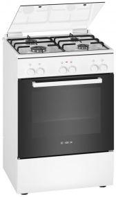 Отдельностоящая комбинированная газовая плита Bosch HXA050D20R