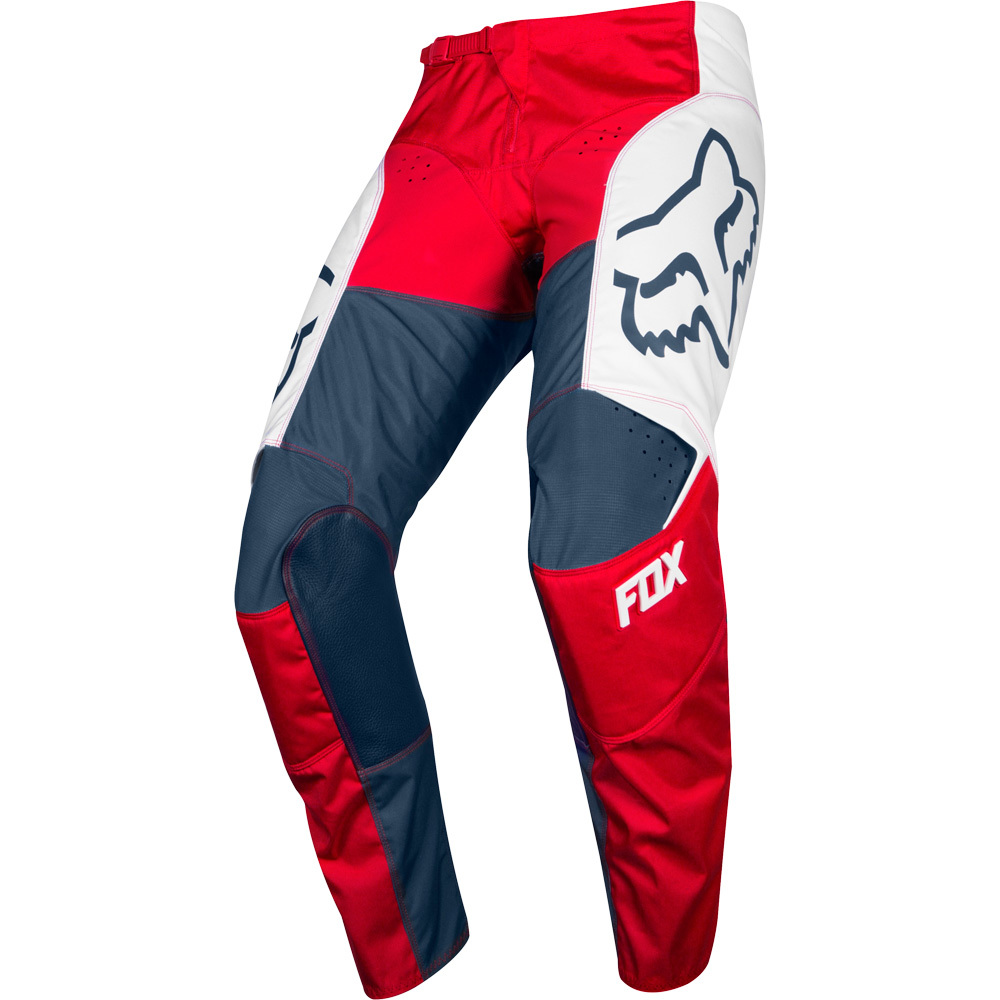 Fox 180 Przm Navy/Red штаны, сине-красные