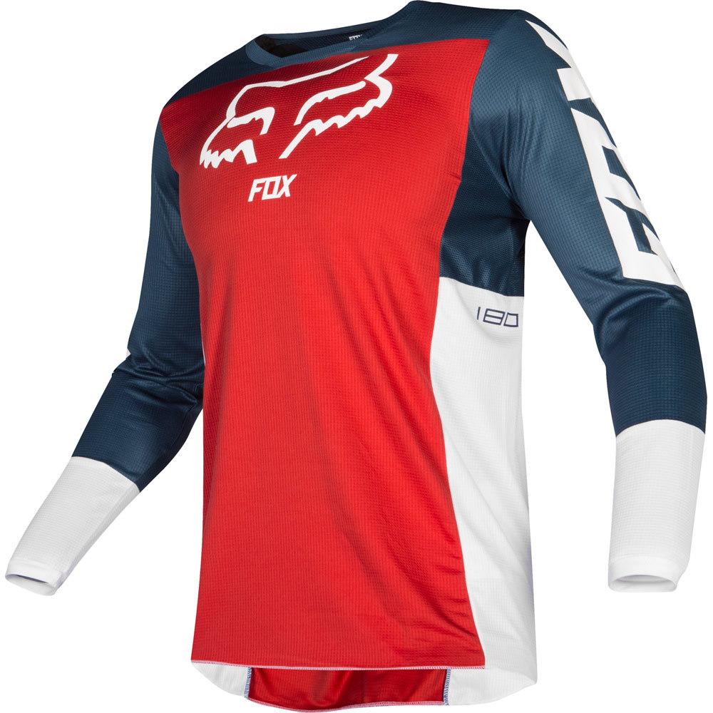 Fox - 2019 180 Przm Navy/Red джерси, сине-красное