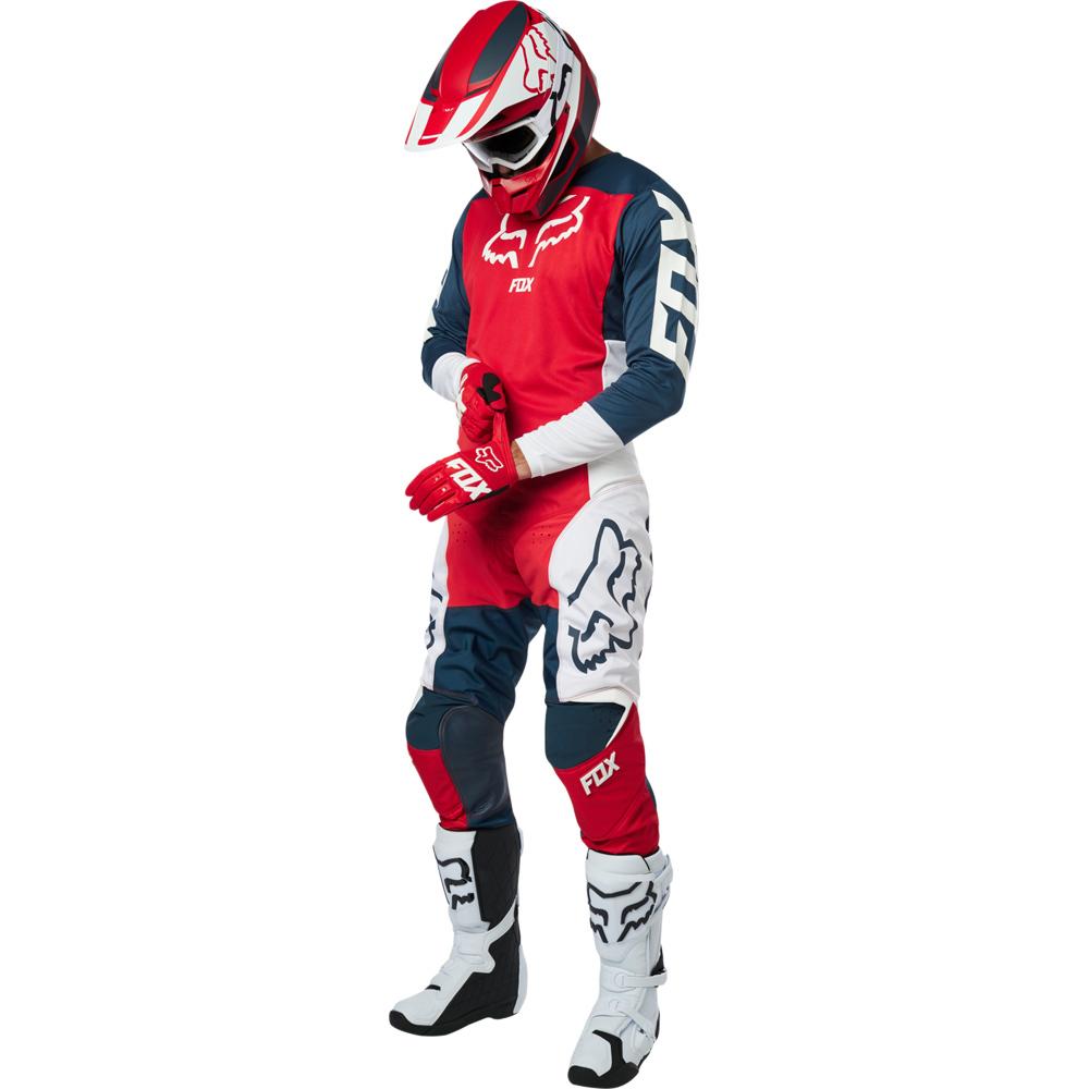 Fox - 2019 180 Przm Navy/Red комплект джерси и штаны, сине-красные