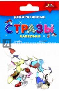 """Декоративные стразы """"Капельки"""" (С3077)"""