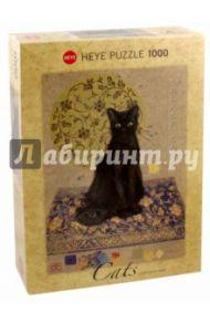 """Puzzle-1000 """"Черный кот"""" (29719)"""