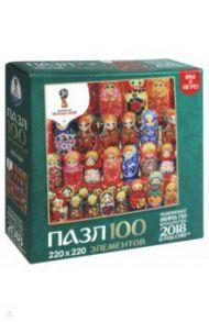 """Пазл-100 """"Матрешки. Деревянные куклы"""" (03806)"""