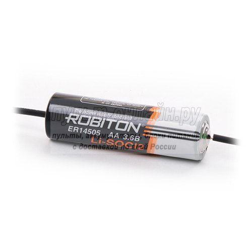 Литиевый элемент Robiton ER14505-axia, AA (3,6V) с выводами