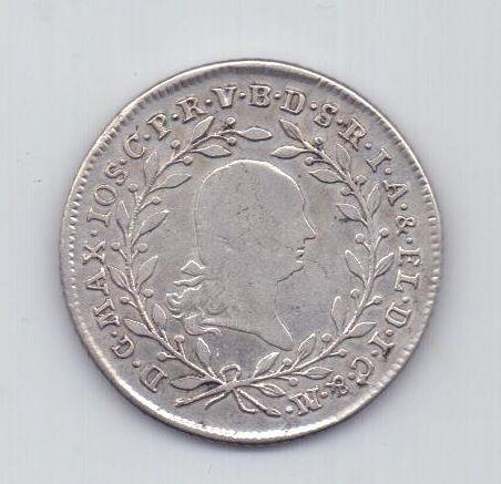 20 крейцеров 1801 года Бавария Германия