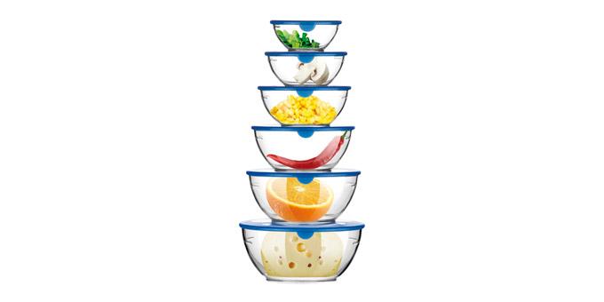 Миски для пищевых продуктов PRESTO, 6 шт 420784