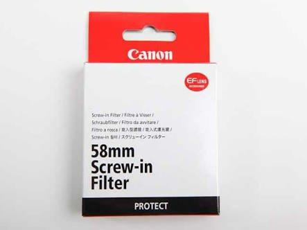Canon 58 mm PROTECT (защитный фильтр)