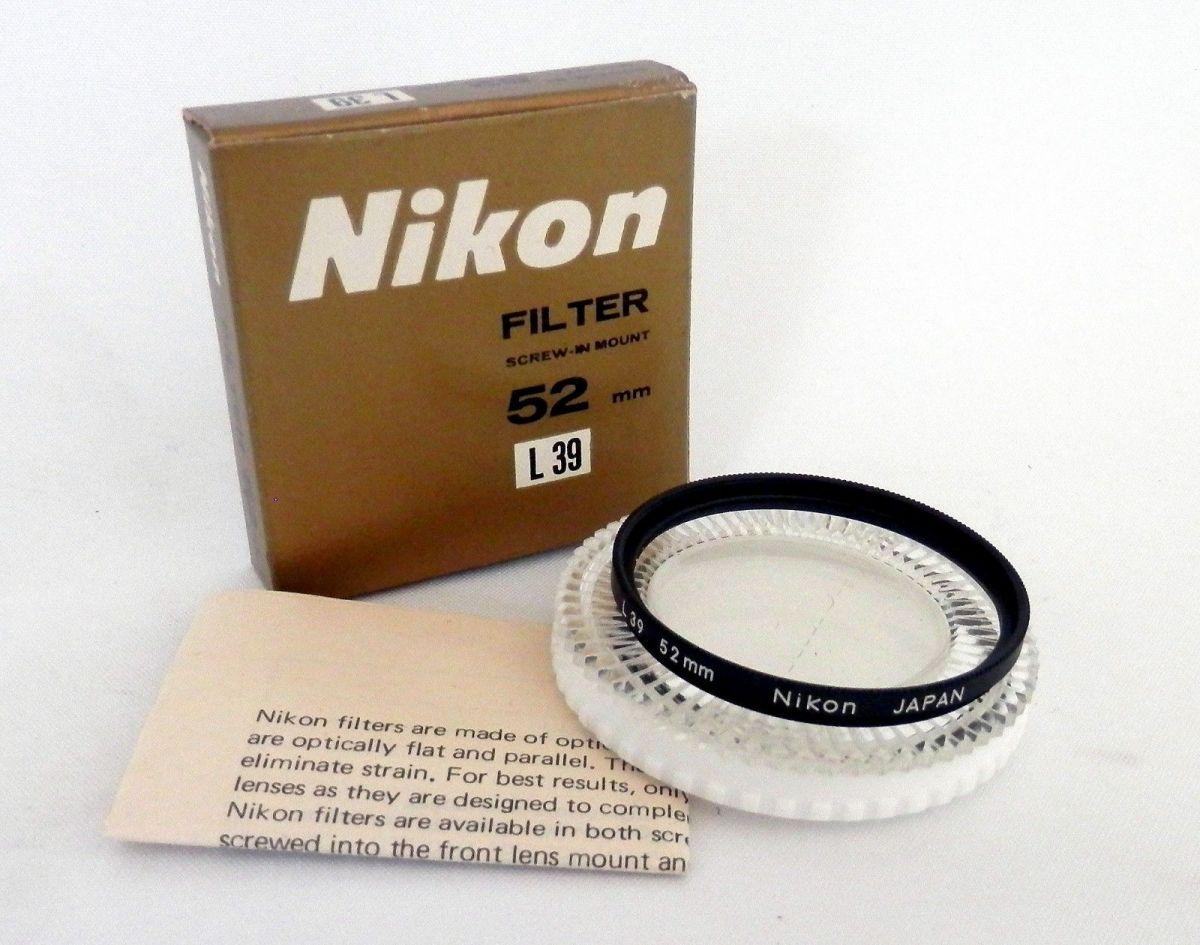 Фильтр NIKON 52mm
