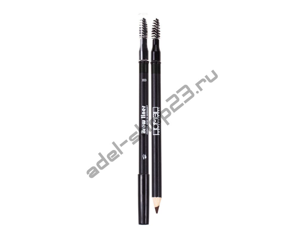 Lamel - Карандаш для бровей с кисточкой Professional BROW LINER PENCIL
