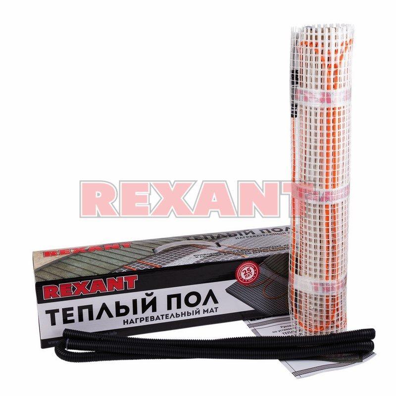 Теплый пол Rexant нагревательный мат 51-0519