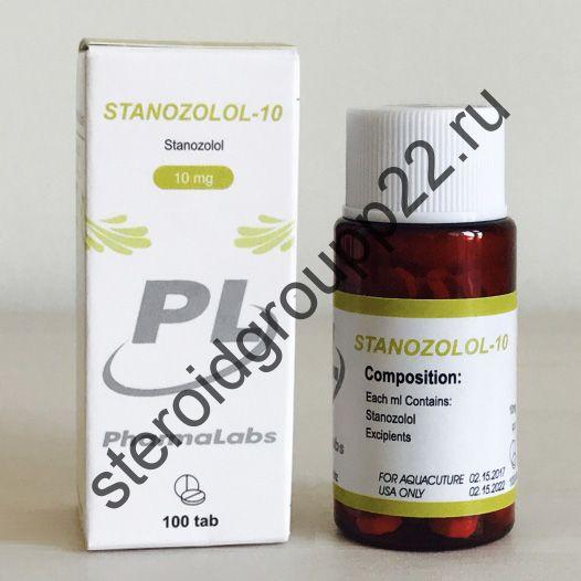 STANOZOLOL-10 (СТАНОЗОЛОЛ). PHARMALABS. 100 таб. по 10 мг.
