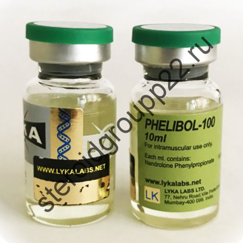 PHELIBOL-100 (нандролон фенил) от LYKA LABS. 1 флакон * 10 мл.