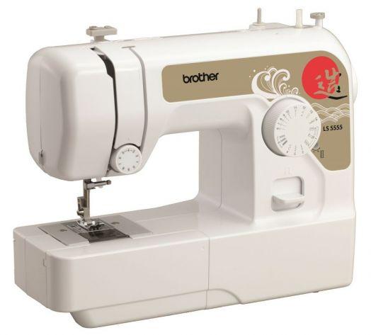 Швейная машина BROTHER 5555 / цена 7900 руб. (цена в рассрочку на 6 месяцев, 7 взносов - 9900 руб. по 1400 руб. в месяц)