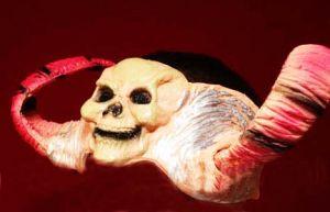 Рога с черепом