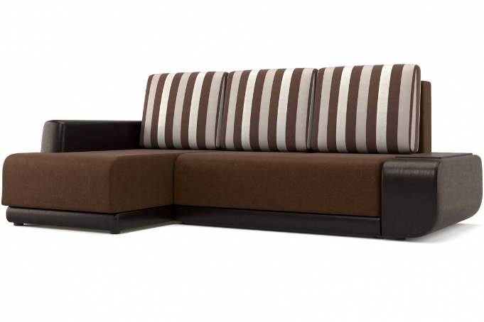 Соло (14) диван угловой левый (УЛ) Bruno 4/Paloma 1701