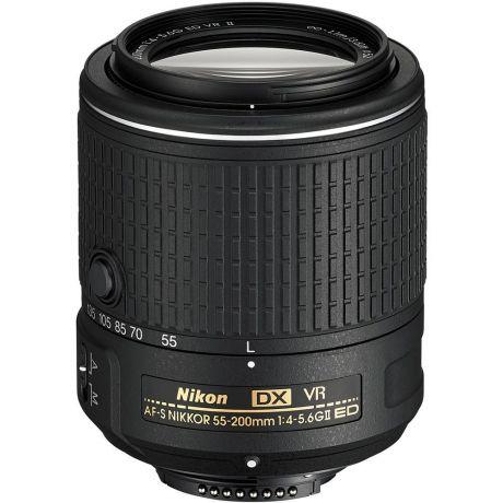 Объектив Nikon 55-200mm f/4-5.6G AF-S DX ED VR II Nikkor