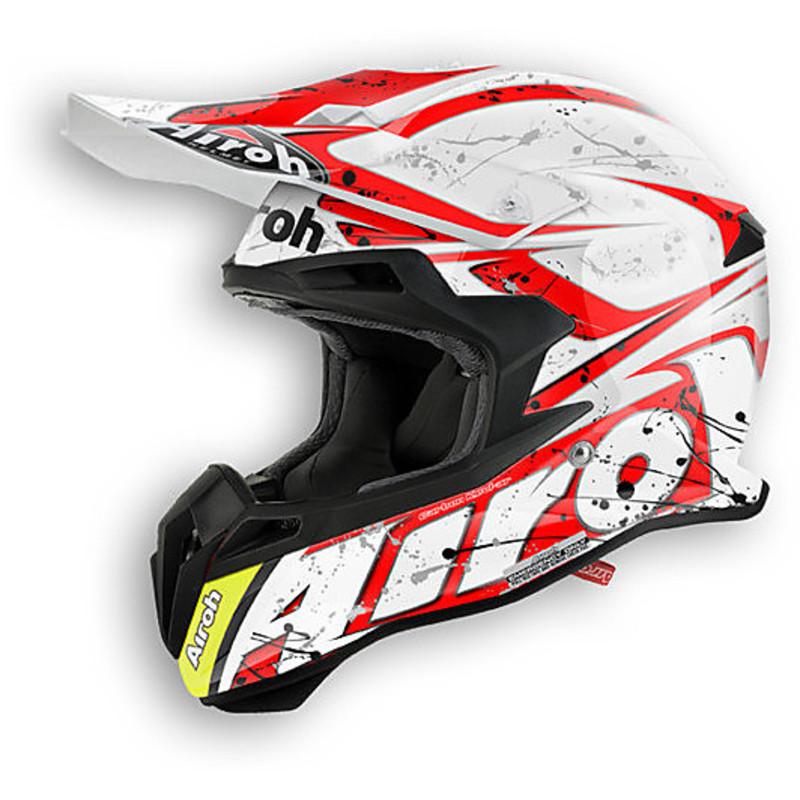 Airoh - Terminator 2.1 Splash Red шлем, красный