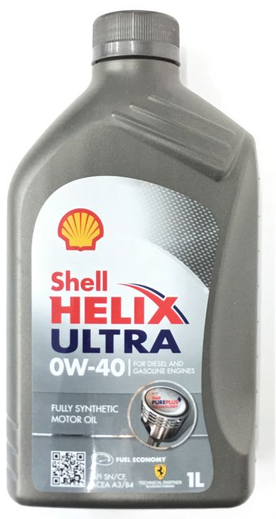 Масло моторное Shell Helix Ultra 0W40  1л