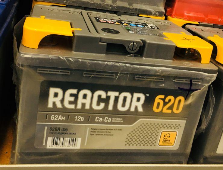 Аккумулятор Аком Reactor 62 Ah 620A (+R)