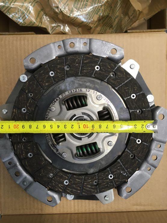 Комплект сцепления Solaris 11-/Rio 3 11-/i30 (FD) 07-12/CEE'D SW (ED)07- w11215a KraftTech