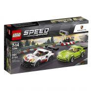 Lego Speed Champions 75888 Porsche 911 RSR и 911 Turbo 3.0