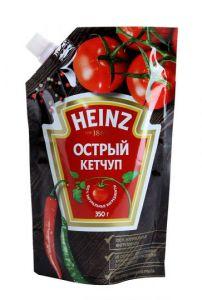 Кетчуп Heinz острый с дозатором 350г