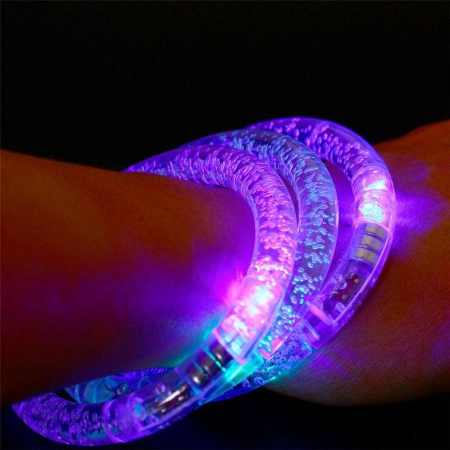 Светящиеся браслеты (Диаметр 6 см)
