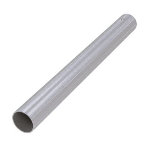 Труба для опоры 710*60 мм, ХРОМ МАТОВЫЙ, распорное крепление UP
