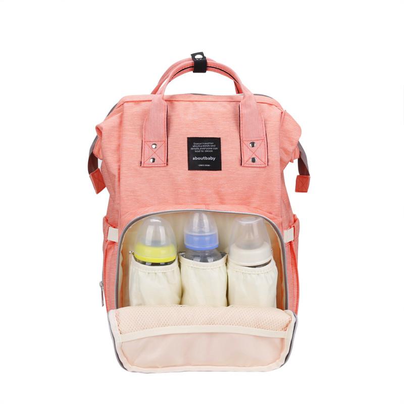 Сумка-Рюкзак Для Мамы Mummy Bag розовый