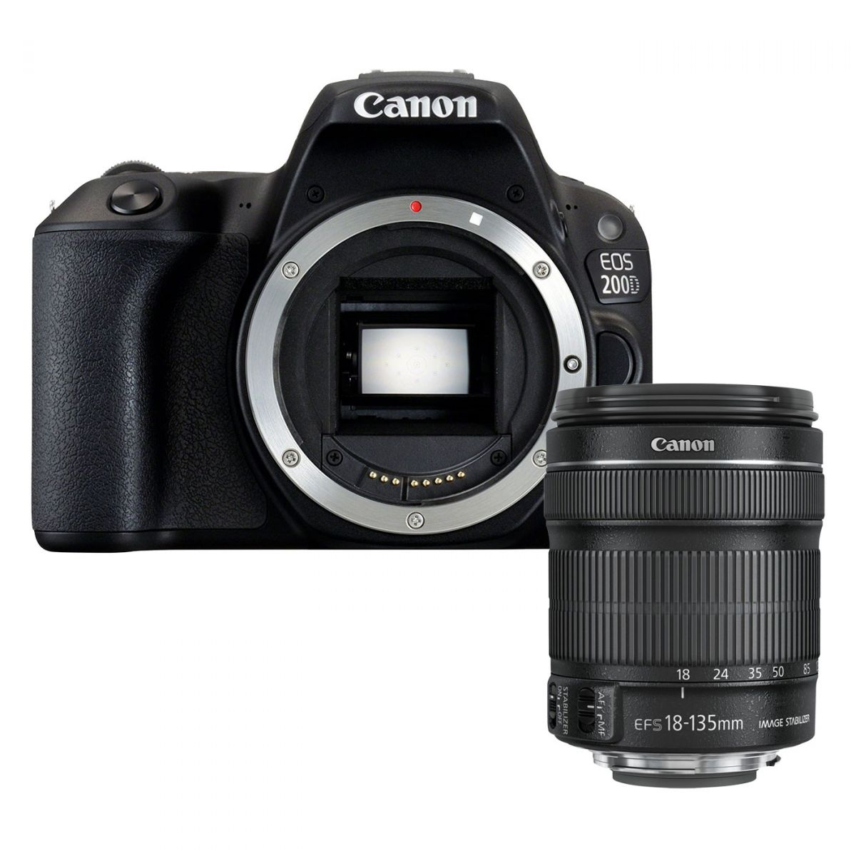 Canon EOS 200D Kit 18-135 IS STM