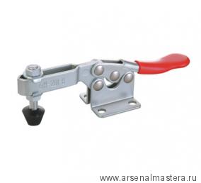 Зажим механический с горизонтальной ручкой GH-201-B, усилие 90 кг, база 25 мм GOOD HAND GH-201-B