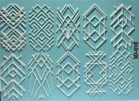 Слайдер-дизайн 3D-010 (белые) на водной основе