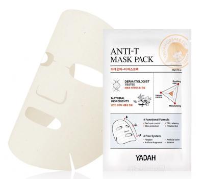 Маска для проблемной кожи YADAH ANTI - T MASK PACK 20гр