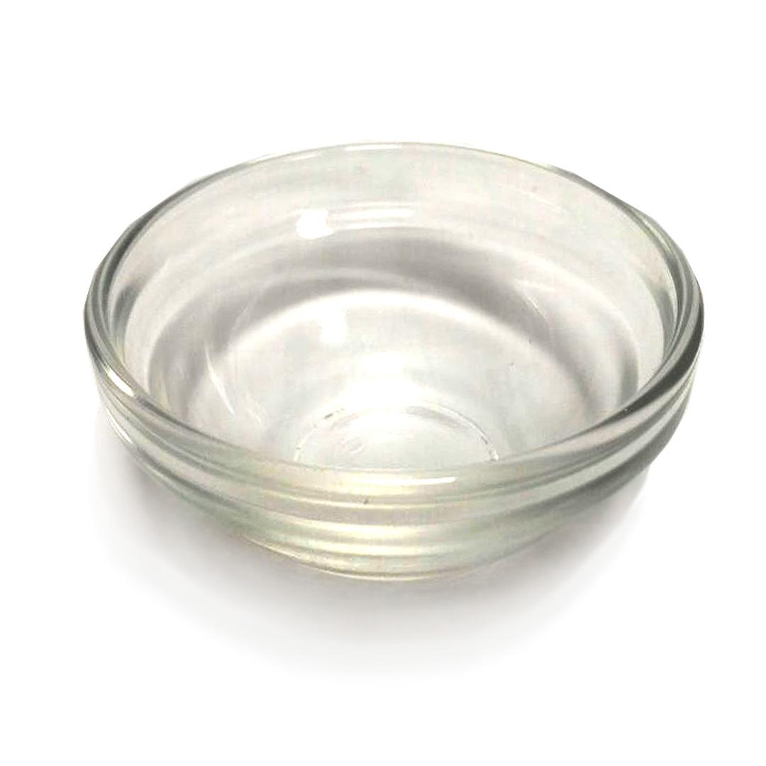 Миска прозрачная для пилинга (стекло), D. 6 см.